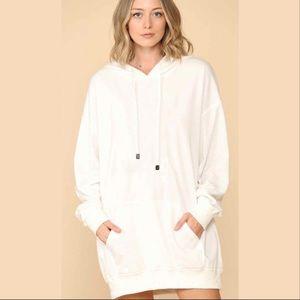 Pullover Hoodie Dress
